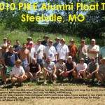 2010 Float Trip Group with Caption